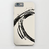 iPhone & iPod Case featuring the wave by Max Rubenacker