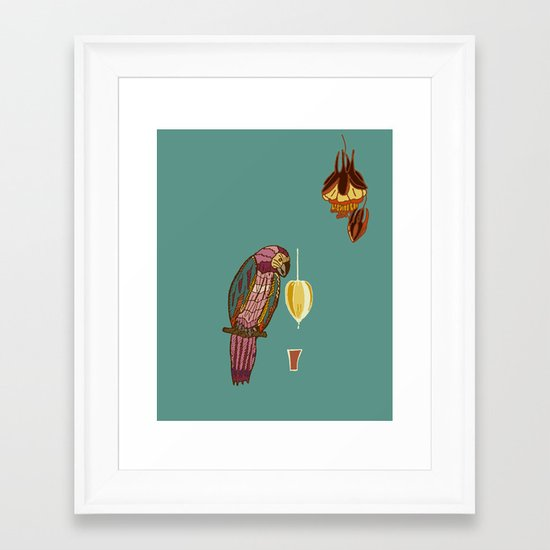 nectar thick Framed Art Print