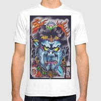 Fudo Mens Fitted Tee White SMALL