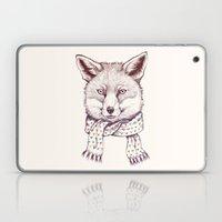 Fox And Scarf Laptop & iPad Skin