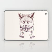 Fox And Scarf Laptop & iPad Skin
