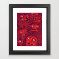Hairwolves Framed Art Print