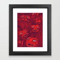 Hairwolves Framed Art Print