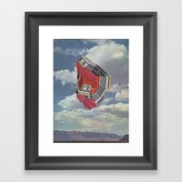 Car Country Framed Art Print