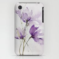 iPhone & iPod Case featuring Wilted Tulips by Annemiek Groenhout