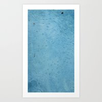 Breath Underwater Art Print