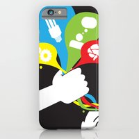 iPhone & iPod Case featuring ideas catcher 2 by benjamin chaubard