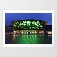Wales Millennium Centre Art Print