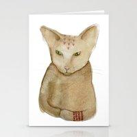 Totem Kitteh 1 Stationery Cards
