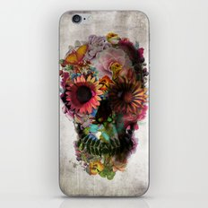 SKULL 2 iPhone & iPod Skin