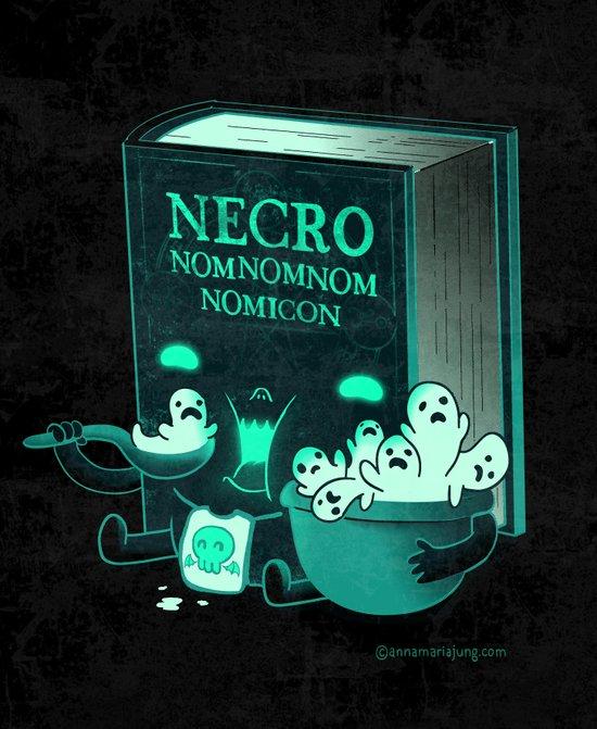 Necronomnomnomicon Art Print