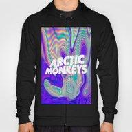 Psychedelic Arctic Monke… Hoody