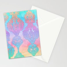 The Ups and Downs of Rainbow Doodles Stationery Cards