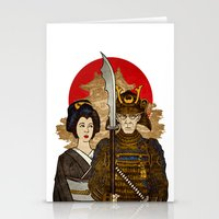 Samurai's Daughter Stationery Cards