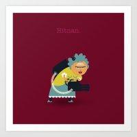 A&A - Hitnan. Art Print