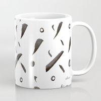 Brushes Pattern Mug