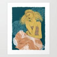 Sommer Kommer Art Print
