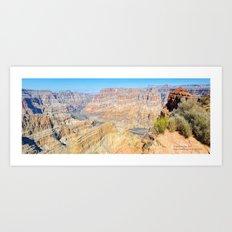Grand Canyon West Panorama Art Print