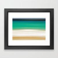 SEA ESCAPE 2 Framed Art Print