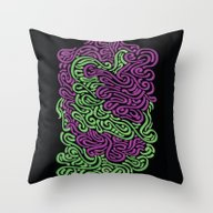 Throw Pillow featuring Color Dance - Light Gree… by Fernando Rocks - Let…