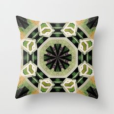 Two In One. Throw Pillow