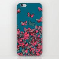 Flutterflies iPhone & iPod Skin