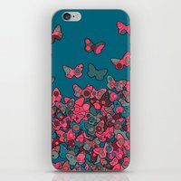 Flutterflies iPhone & iPod Skin