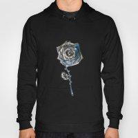 Royal Blue Rose Hoody