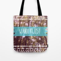 Tote Bag featuring Wanderlust by AA Morgenstern