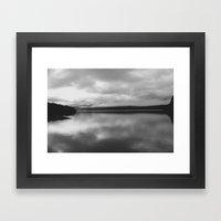 MacKintosh Dam - Tasmania Framed Art Print