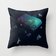 Constructing the Cosmos Throw Pillow