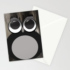 Gothic owl Stationery Cards