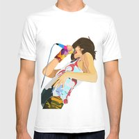 Karen O-h Mah Lord  Mens Fitted Tee White SMALL