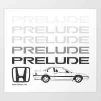 Prelude 89' Art Print