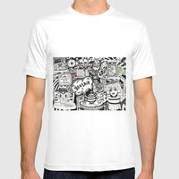Beatnik Mens Fitted Tee White SMALL