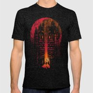 Master Of Illusion Mens Fitted Tee Tri-Black SMALL