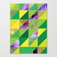 Triangles 2 Canvas Print