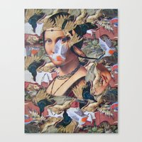 LA BELLE FERRONIERE EN C… Canvas Print