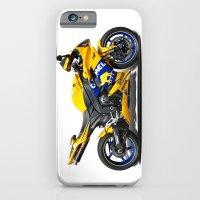 Yamaha R1 yellow iPhone 6 Slim Case