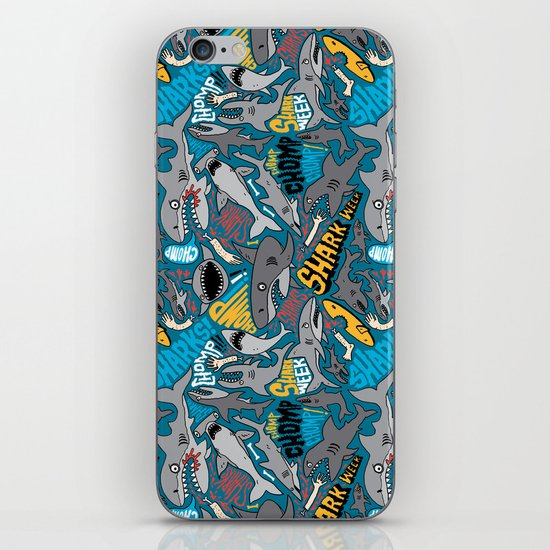 SHARK WEEK! iPhone & iPod Skin