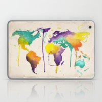 World Splash Laptop & iPad Skin