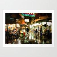 Cafe Hong Kong Art Print
