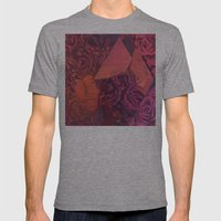 Carson Mens Fitted Tee Athletic Grey SMALL