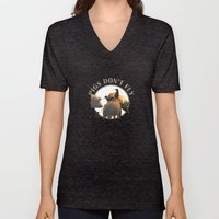 Pigs Don't Fly Unisex V-Neck