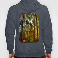 Morning In The Woods - Painting Style Hoody