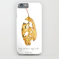 Every Leaf Has A Story T… iPhone 6 Slim Case