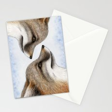 Grey Fox Stationery Cards