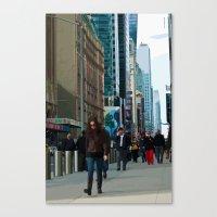Populous Canvas Print