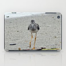 Greater Yellowlegs (Sandpiper) Looking at Camera  iPad Case