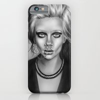 iPhone & iPod Case featuring + SEA OF SORROW + by Sandra Jawad
